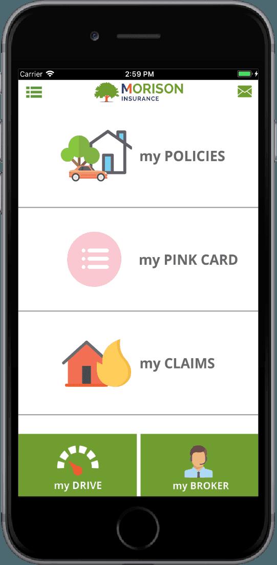 MyMorison Insurance App