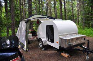 Tear Drop Travel Trailer
